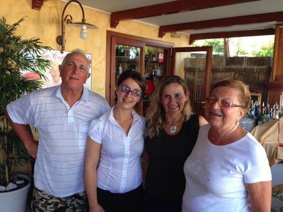 Hotel La Conchiglia : Gentileza no atendimento