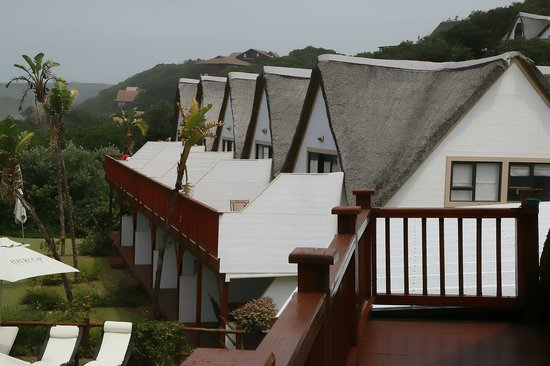 Crawford's Beach Lodge: Balcony view