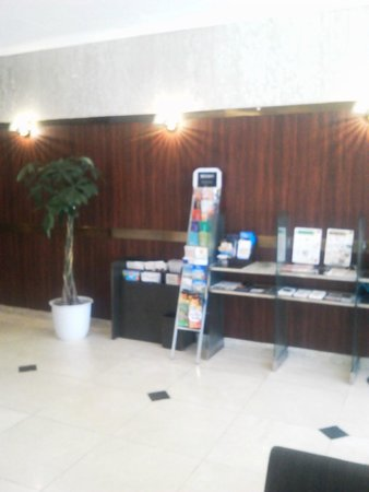 Hotel Royal Stay Sapporo : 広くはないが清潔なロビー