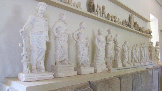 Théâtre d'Épidaure : Epidauros Müzesi