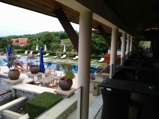 Baan Souchada Resort & Spa: pool view