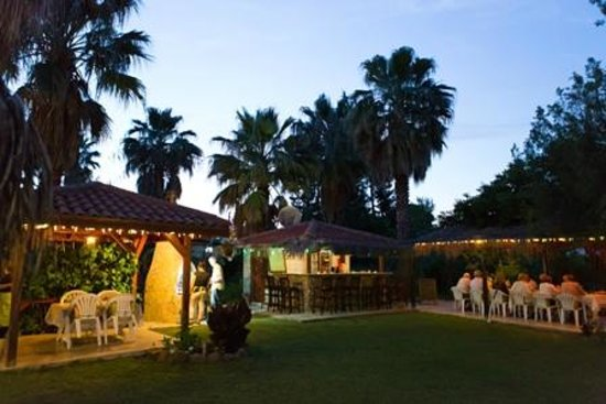 Dalyan Garden Pension : Evening BBQs  in the garden