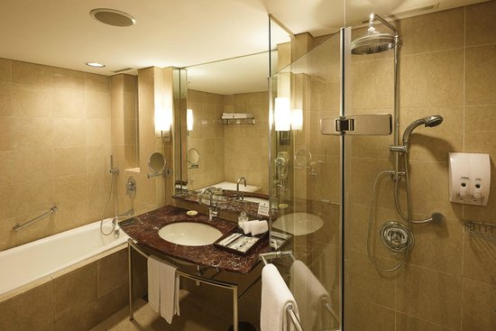 Tayih Landis Hotel Tainan : The Bathroom
