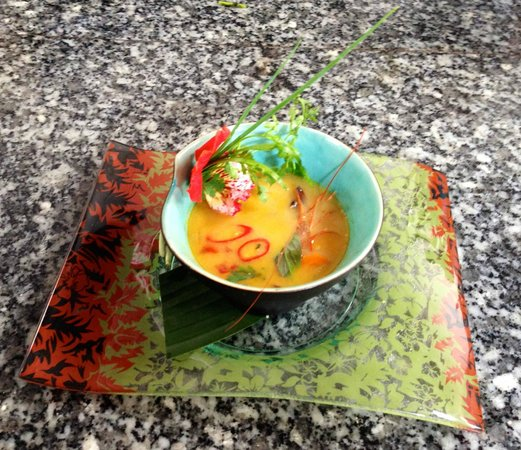 Tom Yum Green Mango style