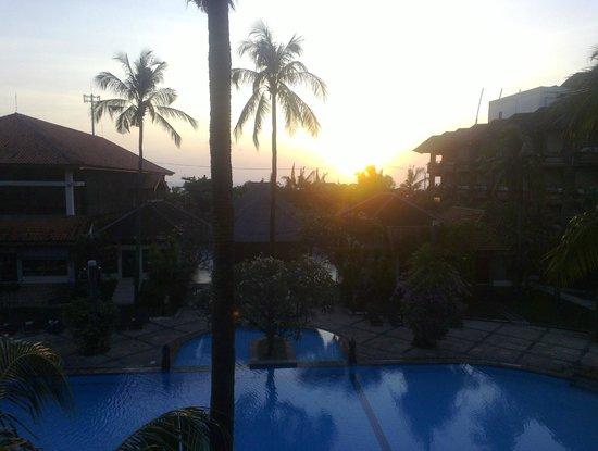 Sari Segara Resort Villas & Spa: вид с балкона