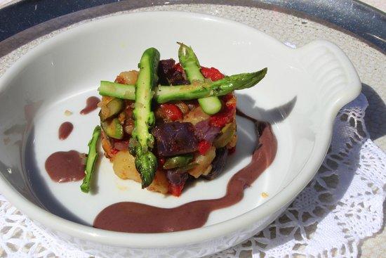 Erna's Elderberry House : Brunch potatoes