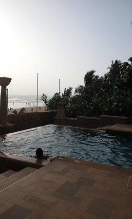 JW Marriott Mumbai Juhu: Lovely sunsent