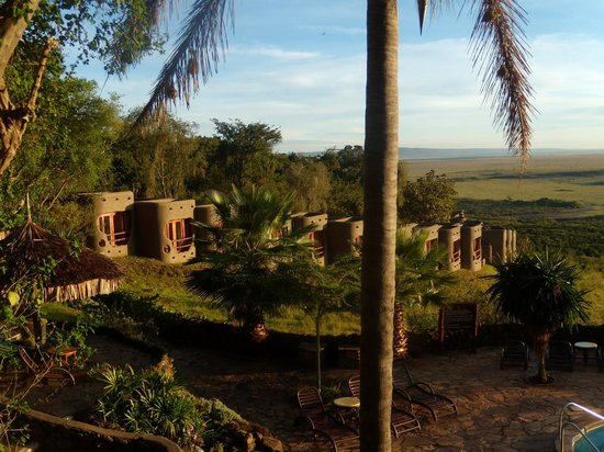 Mara Serena Safari Lodge: The resort