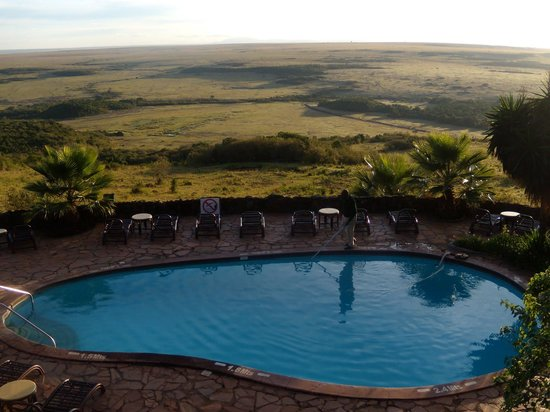 Mara Serena Safari Lodge: Swimming pool