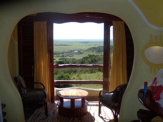 Mara Serena Safari Lodge: View from room