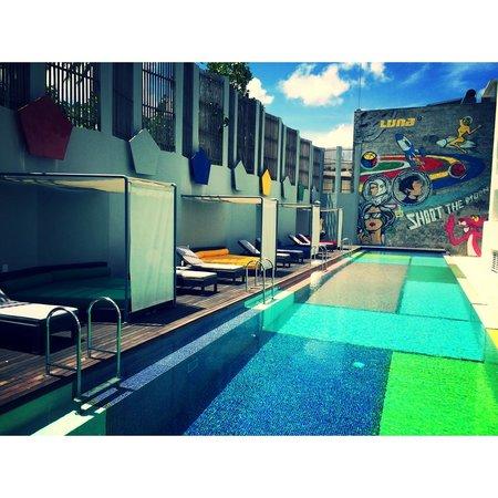 Luna2 Studiotel: Pool at Luna2 Studio