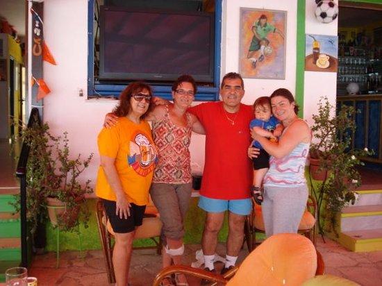 Goal Bar : samen met Eva en Andreas