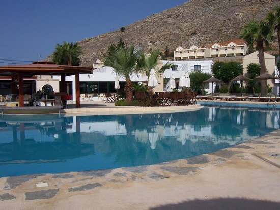 Lindos Gardens Resort Complex: Main pool area