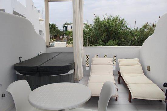 Hotel Katerina: Балкон