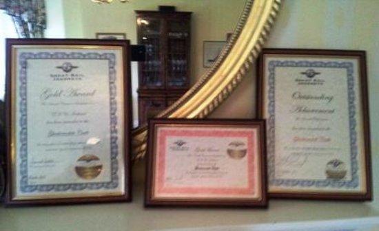 Glenborrodale Castle: well deserved awards
