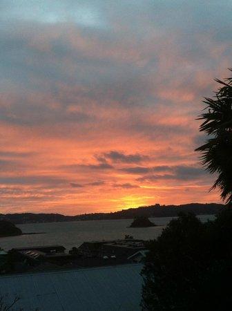 Abri Apartments: Good morning Bay of Islands
