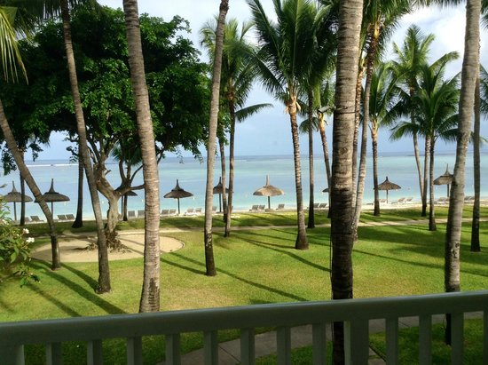 Sugar Beach Golf & Spa Resort: View from our room