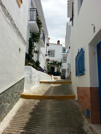 Hotel La Casa: Torrox street - no gym membership required