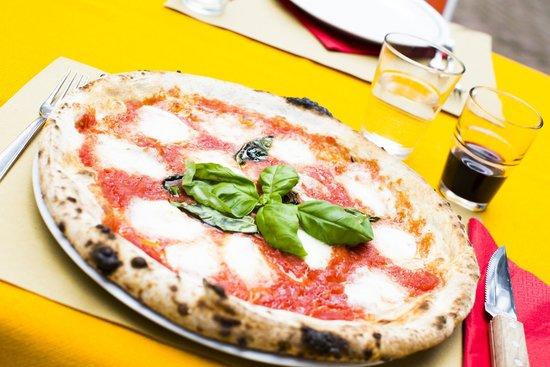 Ristorante La Fornarina: La pizza napoletana