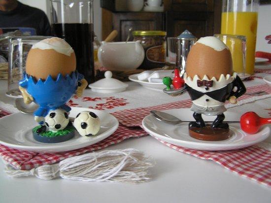 B&B Bologna nel Cuore: Egg Men
