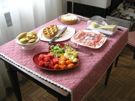 B&B Bologna nel Cuore: Breakfast