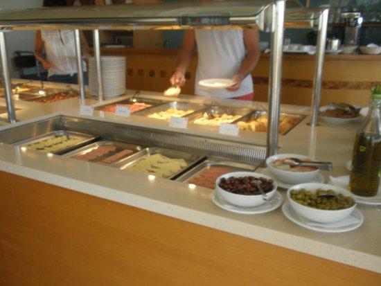 Silver Beach Hotel: Na śniadaniu