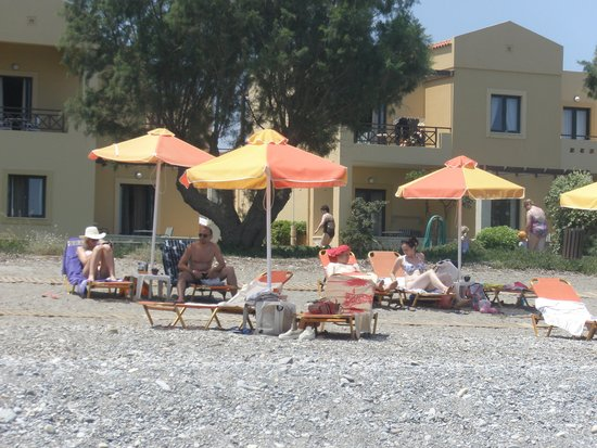 Silver Beach Hotel: Plaża hotelowa