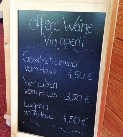 Hotel St. Pankraz - Ultental - Sudtirol: Weinempfehlung