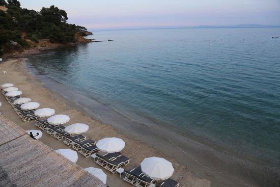 Le Bailli de Suffren: La plage