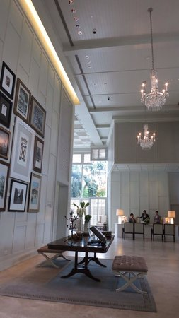 Oriental Residence Bangkok : Lobby