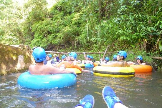 Kauai Backcountry Adventures: Waiting to tube