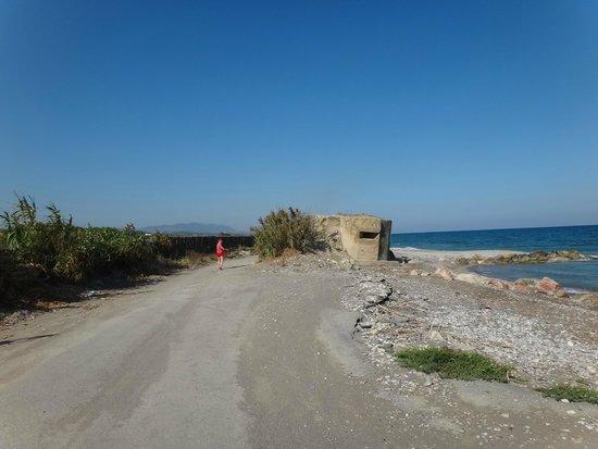 Rhodian Sun Hotel : Ближайший пляж
