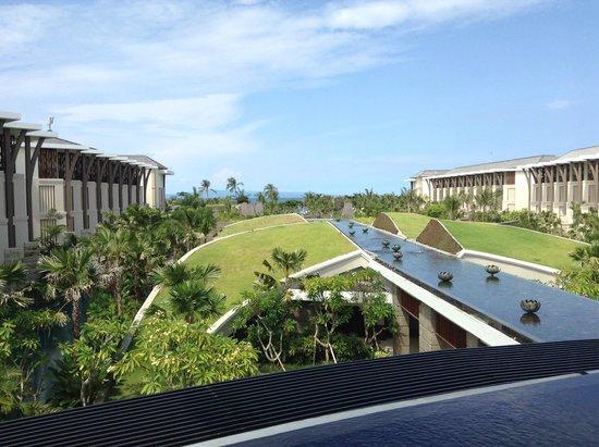 Sofitel Bali Nusa Dua Beach Resort: The fantastic view from the lobby