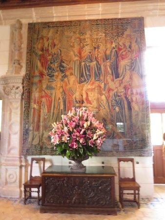Chateau de Chenonceau: Chenonceau flower arrangement