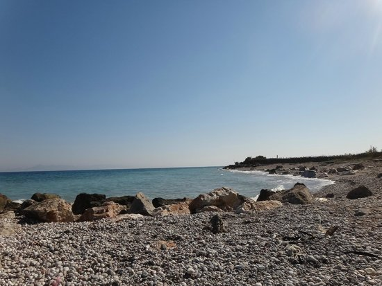 Rhodian Sun Hotel : Пляж