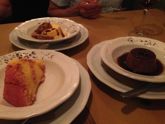 All'Osteria Bottega: I Dolci