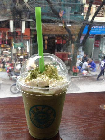 Happy Coffee Bean My Favorite Place To Have Green Tea Frappuccino