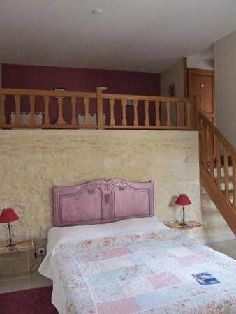 Chambres d'hotes Le Hutrel : camera framboise