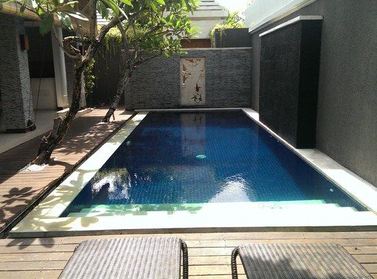 The Wolas Villas & Spa: Clean and fresh pool