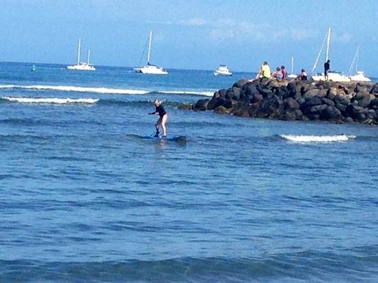 Goofy Foot Surf School, Inc : 9-year-old was up on her first try!