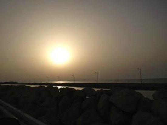 Novotel Bahrain Al Dana Resort: Sunset