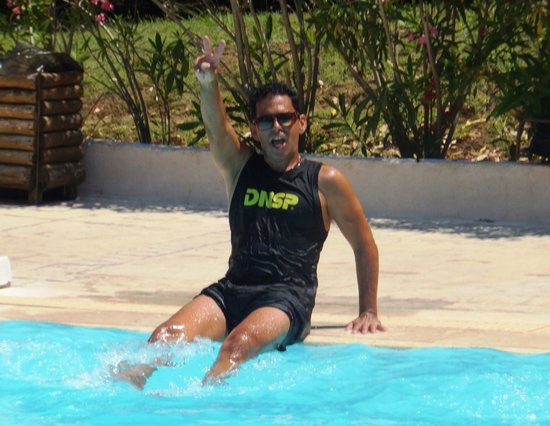 Grecotel Eva Palace: Wido the fitness/activities co-ordinator