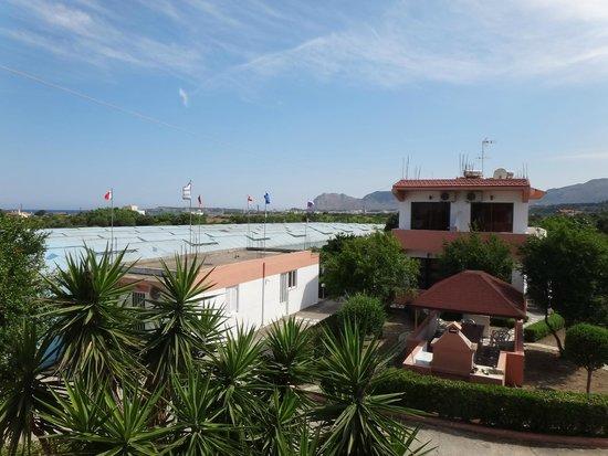 Kyriakos Studios-Apartments: Вид с балкона