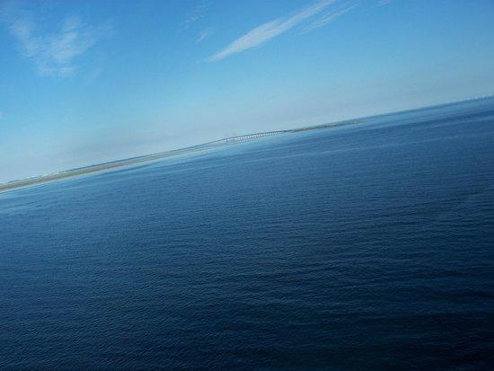 Puente de Oresund: il ponte visto dal mare