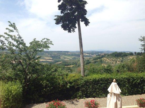 Villa il Poggiale Dimora Storica: The view