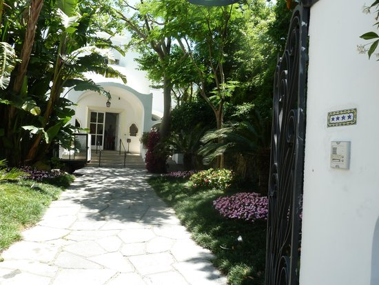 Hotel Villa Sanfelice: Hotel Entrance