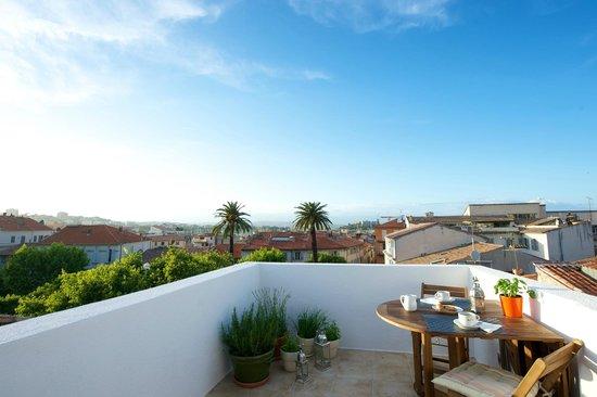 Rue Sade B&B : View from terrace