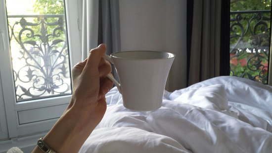 Hotel Cluny Square: Roon 203 - breakfest in bed, loved it!