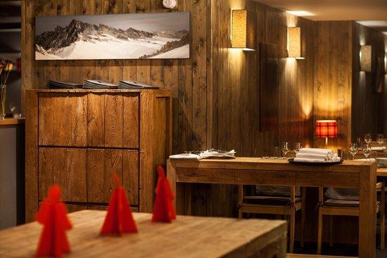 Chalet Hôtel Kaya : Restaurant le K