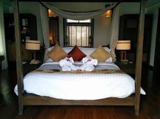 Nora Buri Resort & Spa: Room setup